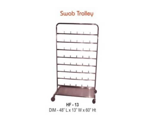 Swab Trolley